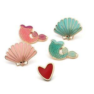 Jewelry - Mermaid Pin Set